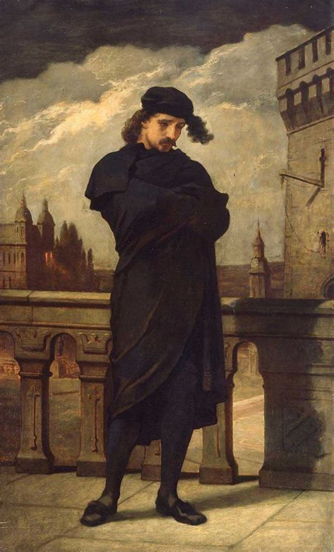 Hamlet 1864 Painting | William Morris Hunt Oil Paintings
