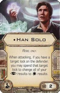 Han Solo  Crew  | X Wing Miniatures Wiki | FANDOM powered ...