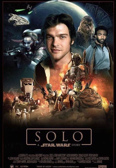 Han Solo Movie Poster Film | Fan Creations Han Solo movie ...
