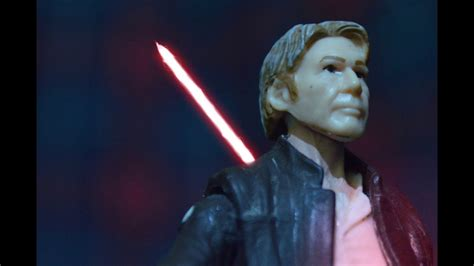 Han Solo s Death Scene   Stop Motion  Star Wars: The Force ...