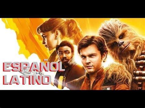 Han Solo Una Historia de Star Wars   Trailer Español ...