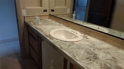 Hand Crafted Concrete Bathroom Countertops by Impact ...