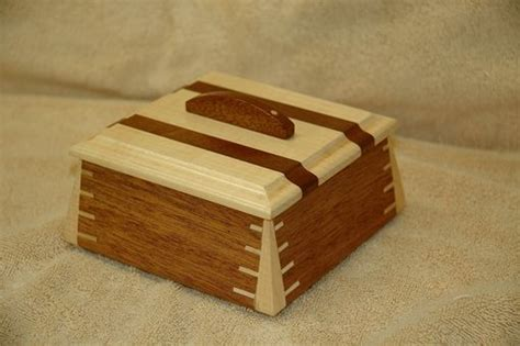Hand Crafted Small Mahogany Wooden Box # 1 by Wooden It Be ...