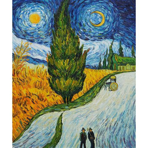 Hand Painted Oil paintings Vincent Van Gogh Canvas art ...