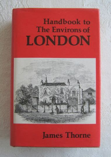 Handbook to The Environs of London   James Thorne 1983 ...