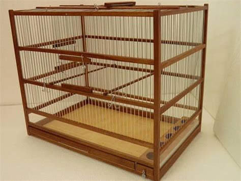 Handcrafted Wooden Cage aviary for birds | Jaulas de ...
