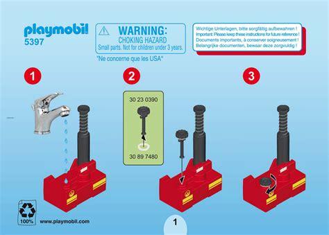 Handleiding Playmobil 5397  pagina 1 van 6   Alle talen
