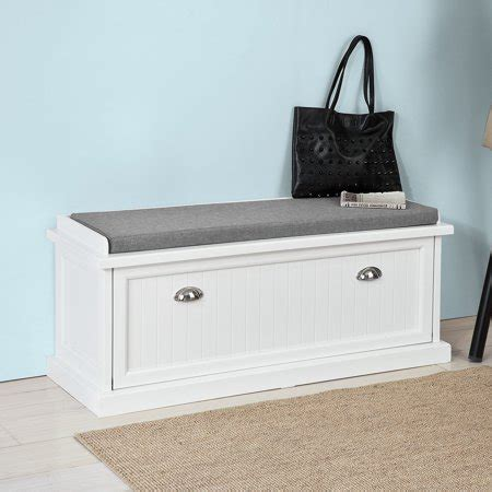 Haotian FSR41 W, White Storage Bench with Removable Seat ...