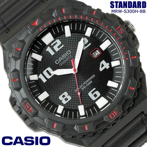 HAPIAN: CASIO Casio sports analog men MRW S300H 8B watch ...