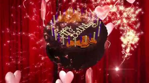 Happy Birthday Animation 3D HD Motion Graphics Background ...