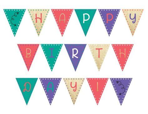 Happy Birthday Banner Printable | Happy birthday banner ...
