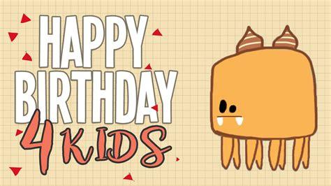 HAPPY BIRTHDAY   Canciones de cumpleaños para niños en ...
