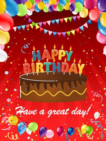 Happy Birthday Candle Card   Birthday & Greeting Cards by ...