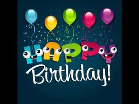 Happy Birthday / Feliz Cumpleaños Tipo Balada  AUDIO ...