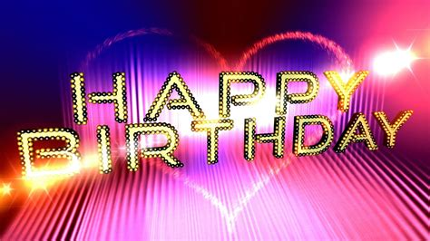 Happy Birthday Intro With Video Trail 4K ULTRA HD ...