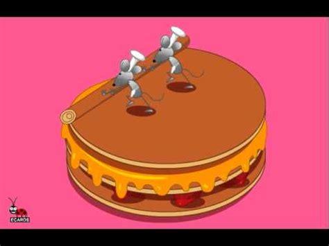 Happy BirthDay Mouse Cake Ecard by LadyBugEcards   YouTube