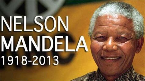 Happy Birthday Nelson Mandela Former South African ...