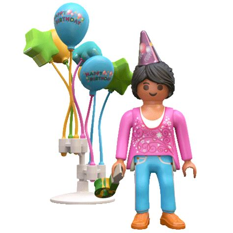 Happy Birthday Party Sticker by PLAYMOBIL for iOS ...