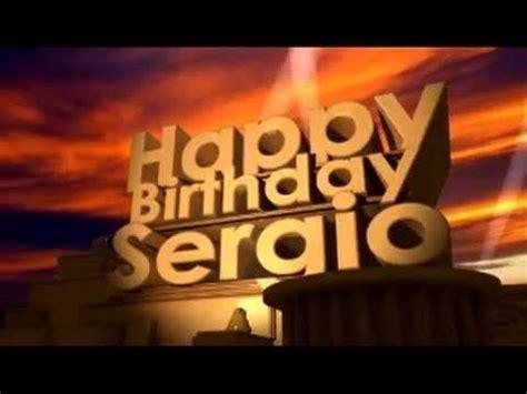 Happy Birthday Sergio   YouTube