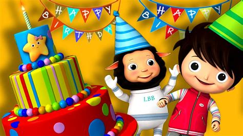 Happy Birthday Song | Original Song by LittleBabyBum ...
