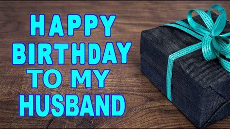 Happy Birthday To My Husband   YouTube