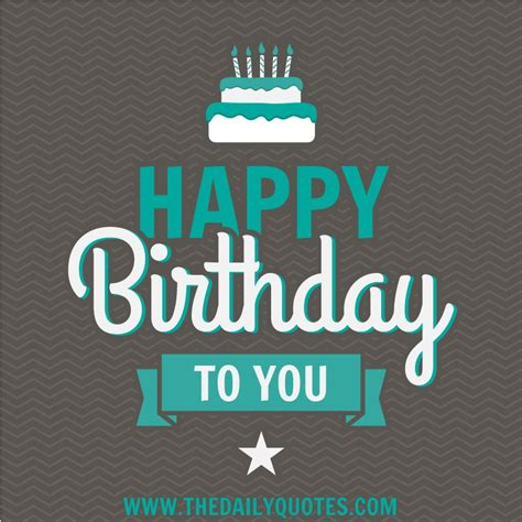 Happy Birthday To You Quotes. QuotesGram