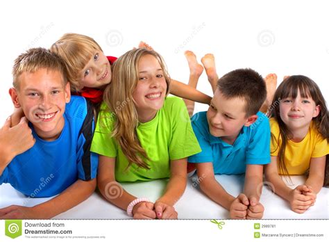 Happy Children stock image. Image of attractive, adorable ...