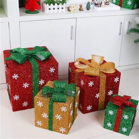 HAPPYXMAS Christmas Decoration Gift Box Christmas Store ...