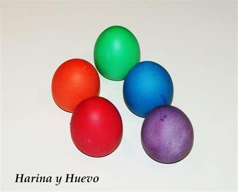 HARINA Y HUEVO: Huevos sorpresa de colores