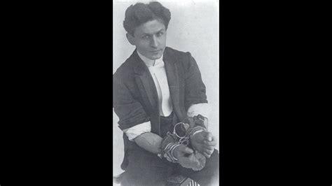 Harry Houdini  1874 1926  Magician   YouTube