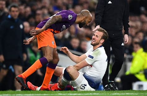 Harry Kane breaks silence on ankle injury suffered as ...