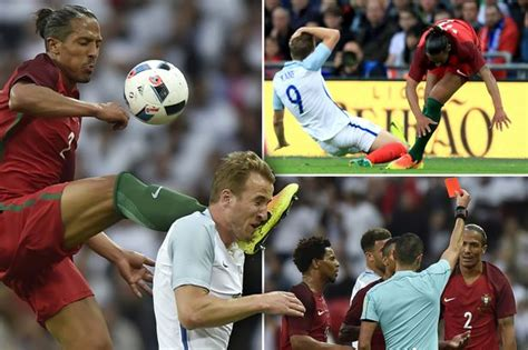 Harry Kane escapes serious injury after Bruno Alves kung ...