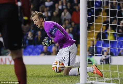 Harry Kane:  It was a great night until I went in goal ...