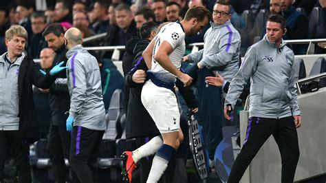 Harry Kane off injured in Tottenham vs. Man City ...