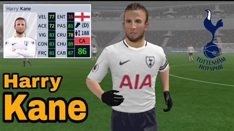 Harry Kane • Skills & Goals • Dream League Soccer 2018 ...