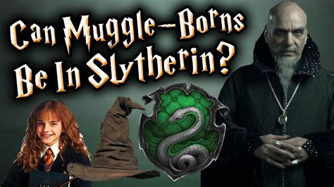 Harry Potter Theory: Can Muggle Born s Be In Slytherin ...