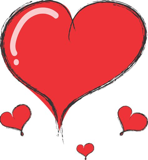 Hart Cute Heart · Free vector graphic on Pixabay
