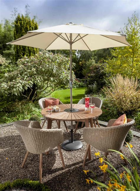 Hartman Hartman Sunburst 4 Seat Round Garden Furniture Set ...