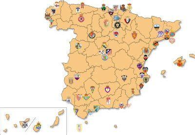 Hasta ahora 61 equipos han participado en la liga española ...