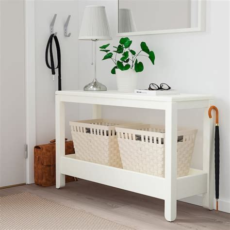 HAVSTA Consola, blanco, 100x35x63 cm   IKEA