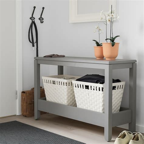 HAVSTA Consola, cinz, 100x35x63 cm   IKEA