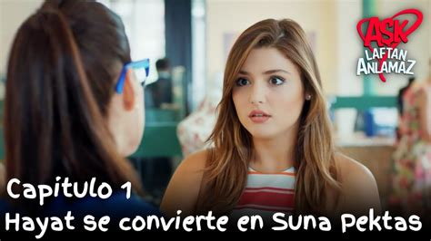 Hayat se convierte en Suna Pektas | Amor Sin Palabras ...
