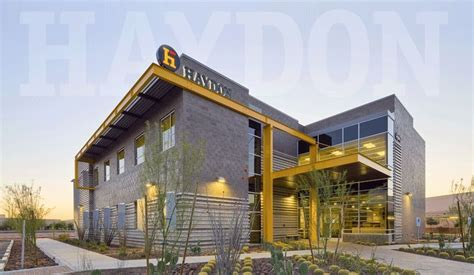 Haydon Building Corp   Corporate Headquarters Design/Build ...