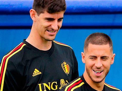Hazard y Courtois se unen a la convocatoria de Bélgica ...