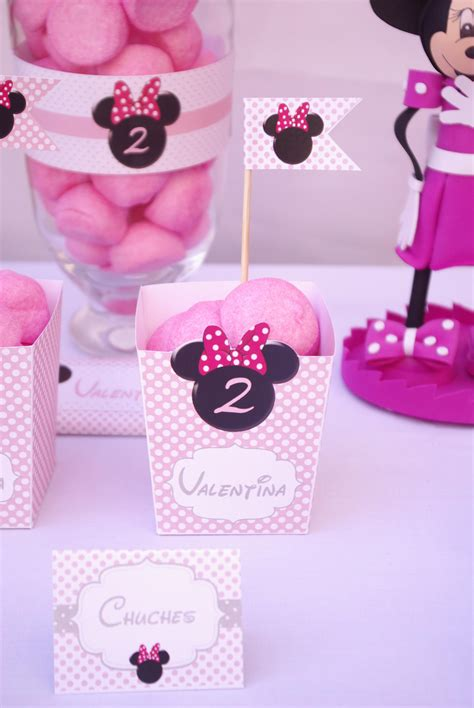 Hazlo Especial   Decoración cumpleaños de Minnie Mouse!