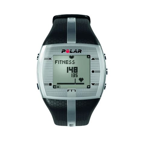 Heart Rate Monitor Watch   Polar FT7M   Black/Silver ...