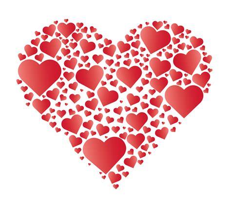 Hearts in Heart vector   Download Free Vectors, Clipart ...