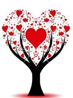 Hearts ♡♡♡   Heart tree, Valentine tree, Valentine heart