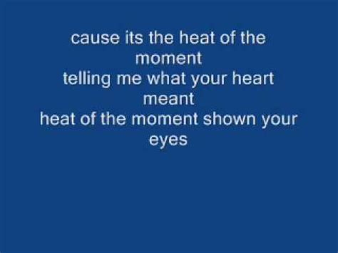 Heat of the Moment   Asia   With lyrics Chords   Chordify