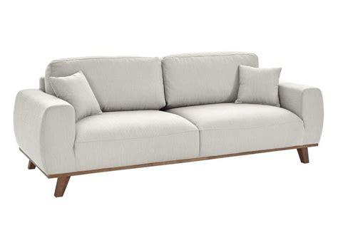 heine home Sofa in 2 Größen und 2 Farben, Fester ...